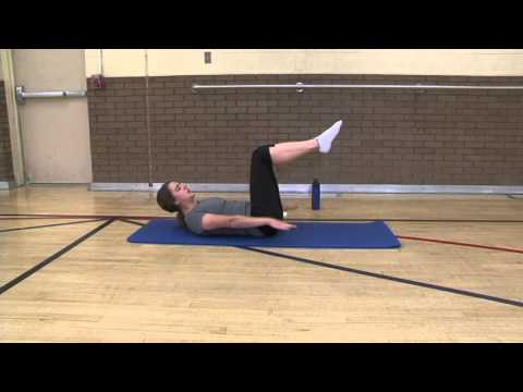 Pilates Lesson 1