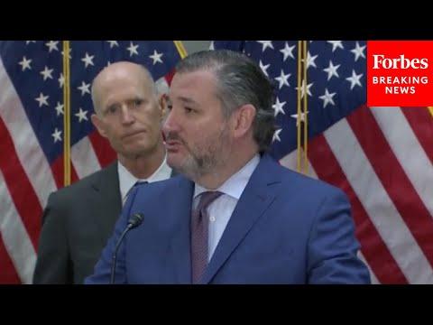 JUST IN: GOP Senators Tear Into Biden's Border Policies At Press Conference