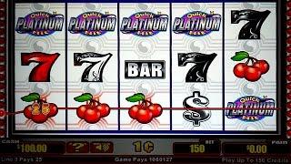 Quick Hit Platinum Slot - POST JACKPOT - LIGHTNING STRUCK!
