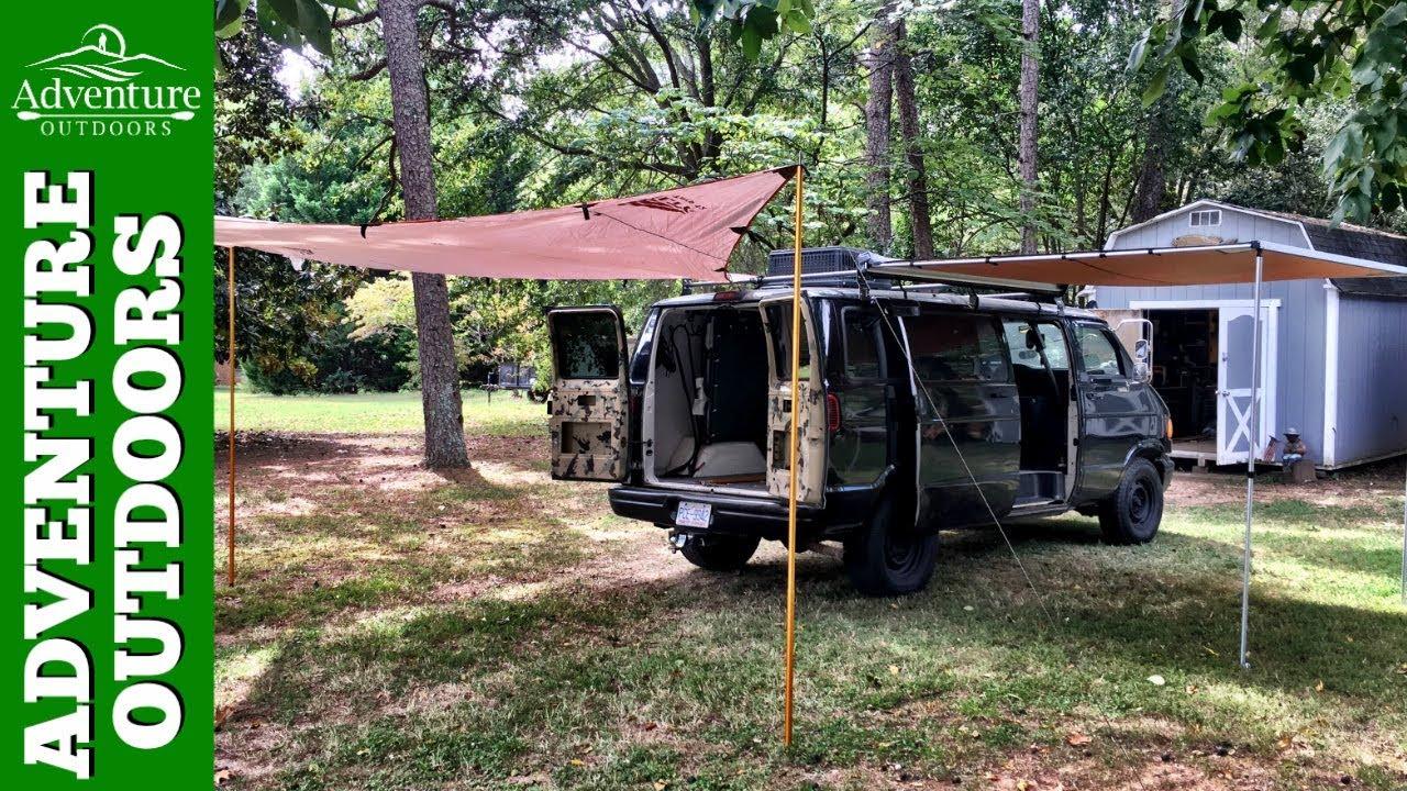Kelty Noah Tarp 12 As Optional Awning On Van