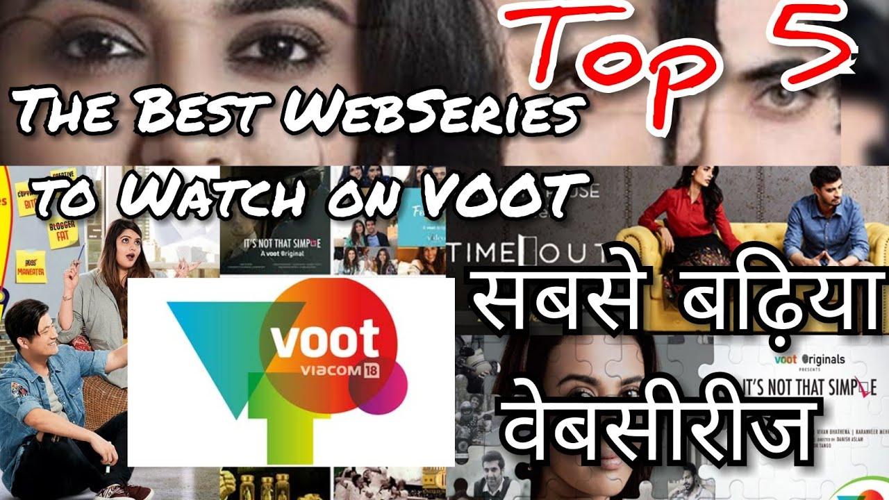 VOOT | Best Webseries to watch on Voot |Top 5 |HINDI