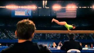 Танец гимнастки на бревне