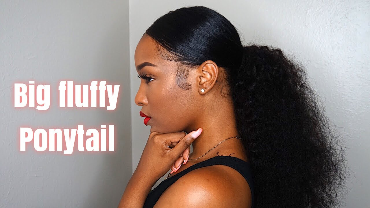 Grwm Hair Big Fluffy Ponytail Fabulousbre