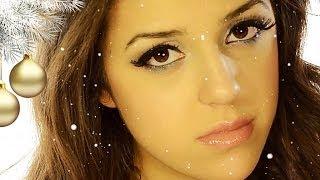 Уроки макияжа. Новогодний макияж. Как сделать красивый макияж.