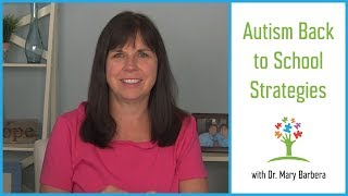 Strategies to Ease Back to School Transitions for Kids with Autism