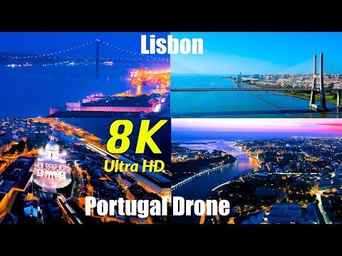 Lisbon Portugal 8K UHD