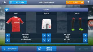 Dream league soccer 2017 kits