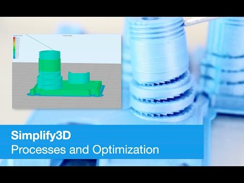 Simplify3D Tutorial Optimize Layer Height and Speed for Quality