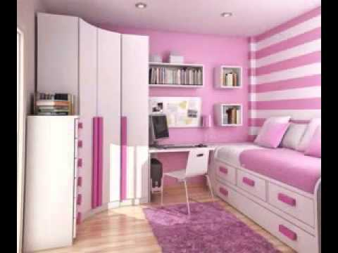 DIY cute girls bedroom design decorating ideas - YouTube