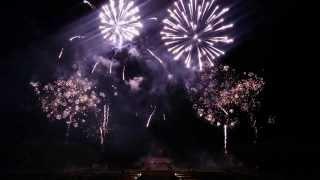 HEM 2014 - Fam Trip to Château de Vaux le Vicomte Fireworks