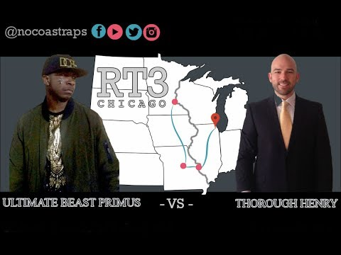 Ultimate Beast Primus vs Thorough Henry | Rookie of the Year Match | Road Trip 3