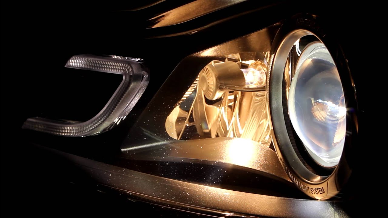 MERCECES BENZ C250 INTELLIGENT LIGHT SYSTEM & ACTIVE LIGHT FUNCTION