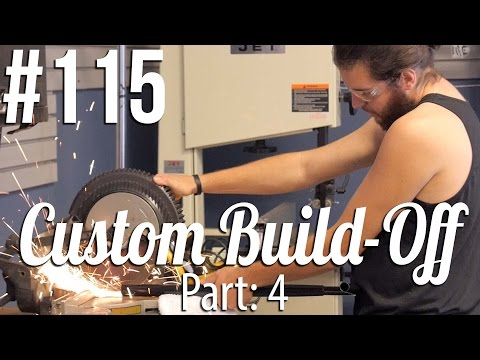 Custom Build Off! - Part: 4 (ft. Jesus Vargas) │ The Vault Pro Scooters