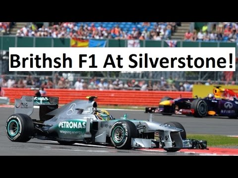 Attending British Formula 1 Race At Silverstone - Vlog 41