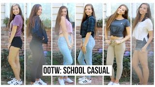 OOTW CASUAL OUTFITS FOR SCHOOL! ZCBEAUTY