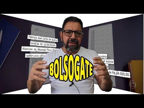 Casa de Bolsonaro começa a cair