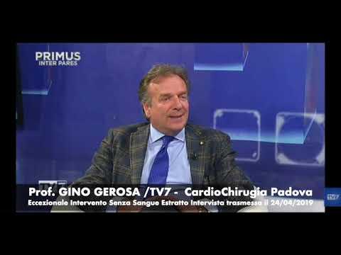 Prof. Gino Gerosa 24/04/2019 Estratto Intervista TV7