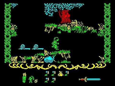 Robin of the Wood Walkthrough, ZX Spectrum