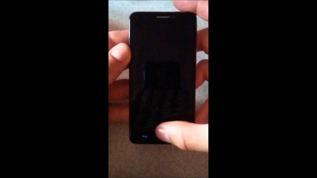 Alcatel One Touch Idol screen problem