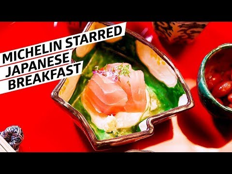 The Japanese Breakfast with a Michelin Star — Omakase Japan