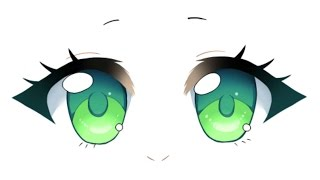 How to Draw Chibi Eyes Tutorial