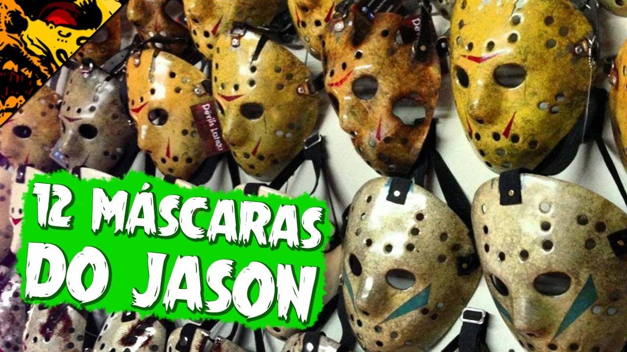 As 12 Mascaras De Jason Voorhees Sexta Feira 13 Youtube