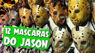 As 12 Máscaras de JASON Voorhees | Sexta-feira 13 👹