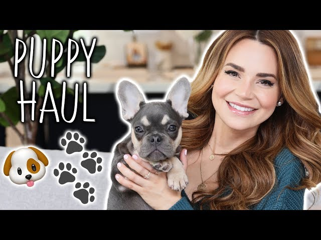 My New Puppy Haul!