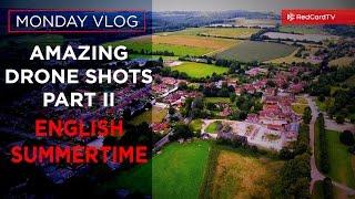Sports Vlog England: The Best Drone Shots Part II, DJI Phantom 4 video | RedCardTV