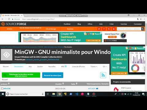 Installer MinGW sur Windows 10 - YouTube