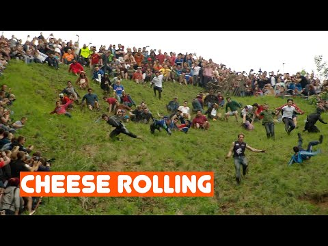 the-world's-stupidest-competition---cheese-rolling