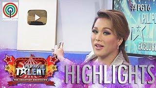 PGT Highlights 2018: Pilipinas Got Talent receives the YouTube Gold Creator Award