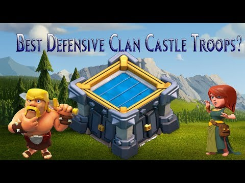 Best Defensive Clan Castle Troop?? | Ice Golem Is Here | Clash Of Clans