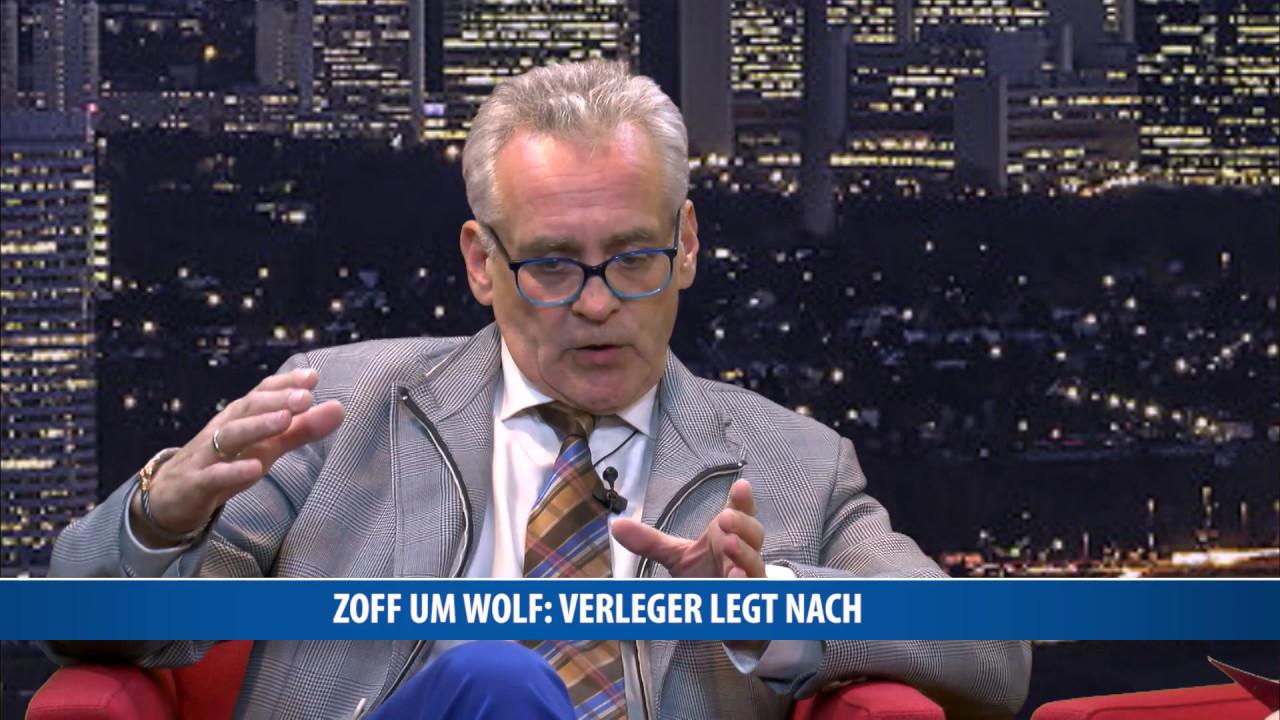 Zoff um Wolf: Verleger legt nach