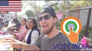 AMERICAN IN INDIA: Indian Election Day + Pushkar Market!