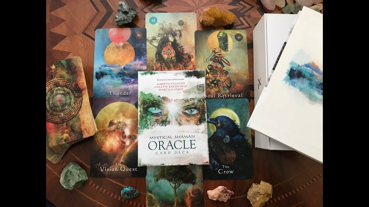 Mystical Shaman Oracle Deck Unboxing + First Impressions | Deck Reviews