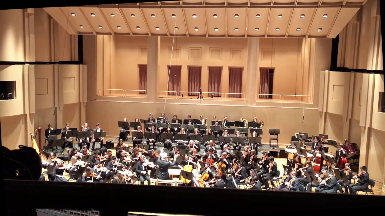 MYS Concert Orchestra At The Arlene Schnitzer Concert Hall Portland - Schnitzer hall portland or