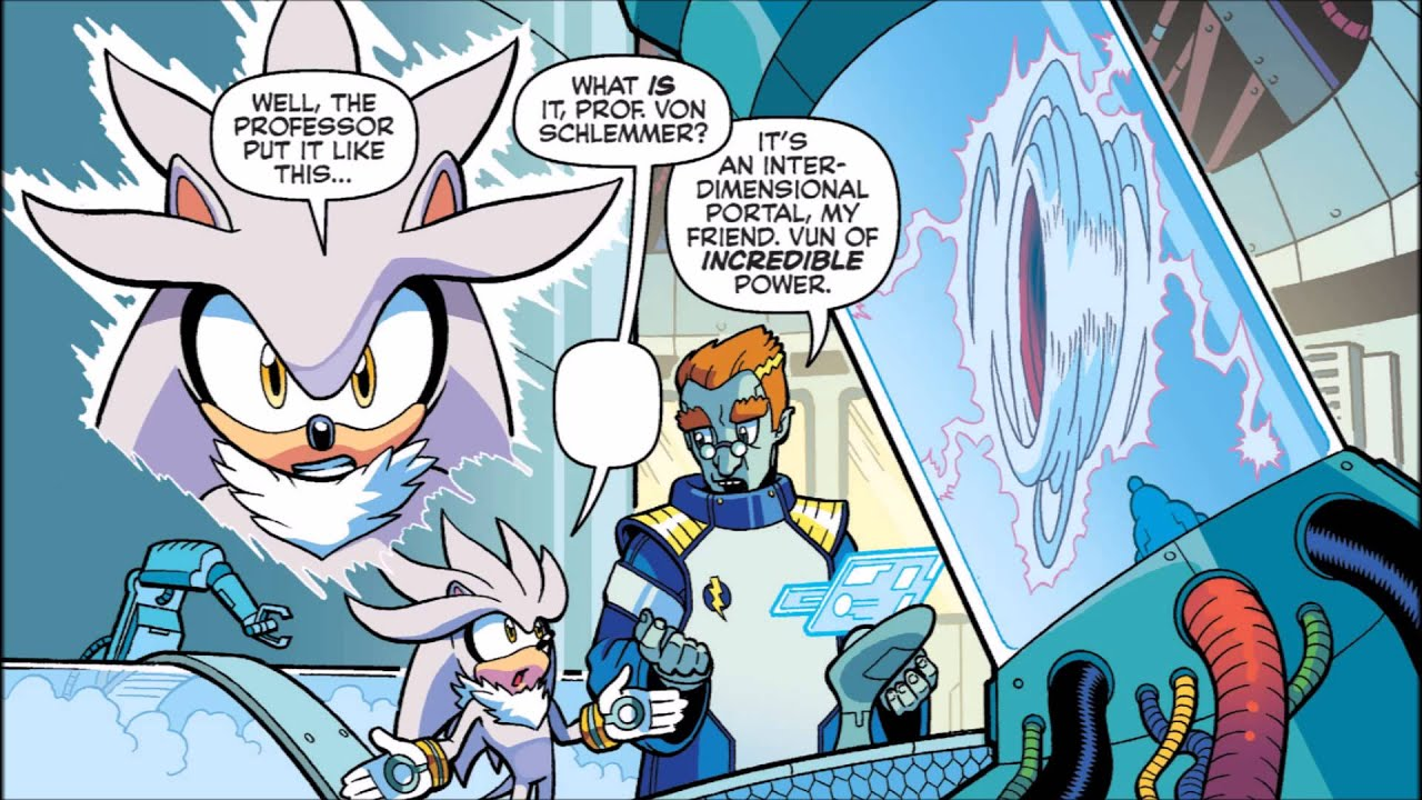 sonic comic origins into the unknown youtube