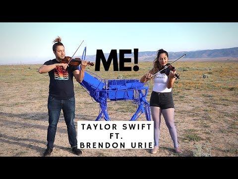 ME! - Taylor Swift ft. Brendon Urie Cover (Violin)    Chris & Laurann thumbnail
