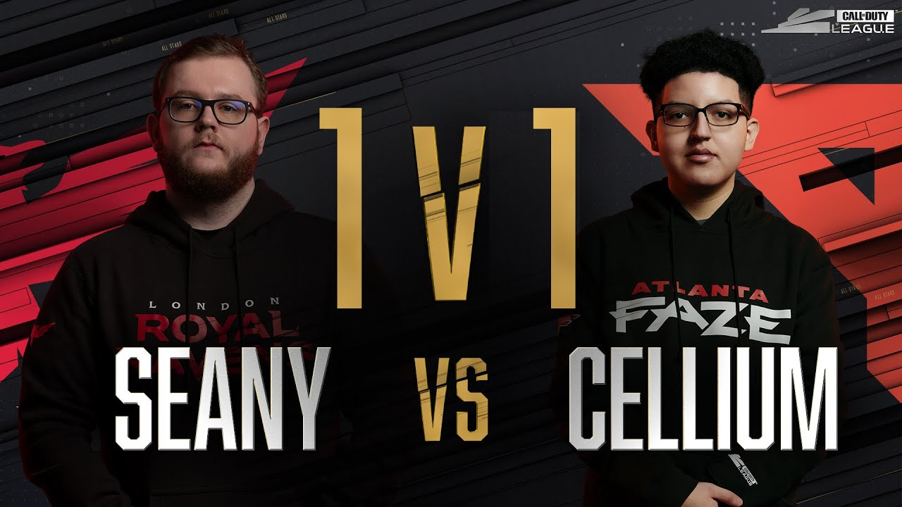 Quarter-Final | SEANY vs CELLIUM — 1v1 Gunfight | All-Star Weekend Day 2