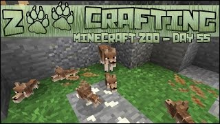 Litter of Red Wolf Puppies!! 🐘 Zoo Crafting: Season 2 - Episode #56