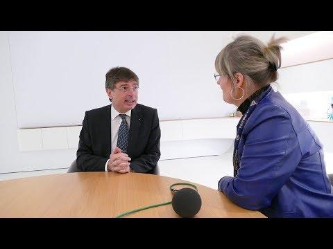 IDS 2019 Pressekonferenz: Interview mit Mark Stephen Pace