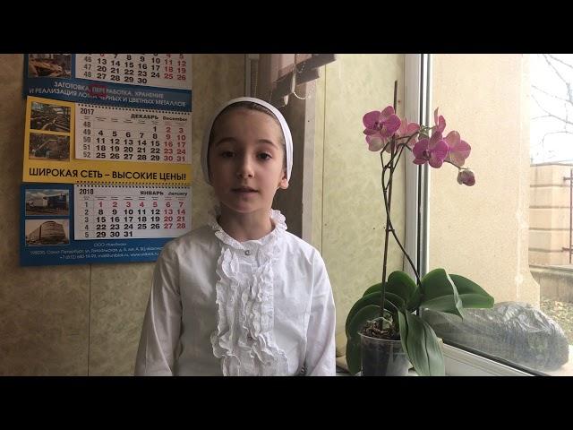 Изображение предпросмотра прочтения – АминатБисултанова читает произведение «Сара в Версальском монастыре» М.И.Цветаевой