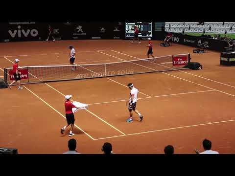 Fabio Fognini vs Pablo Cuevas Semifinal Brasil Open 2018 - ATP 250