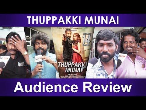 Thuppakki Munai Public Review   Vikram Prabhu, Hansika Motwani   L.V. Muthu Ganesh   Dinesh Selvaraj