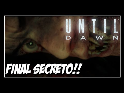 UNTIL DAWN - FINAL SECRETO!! ÚLTIMO BOSS