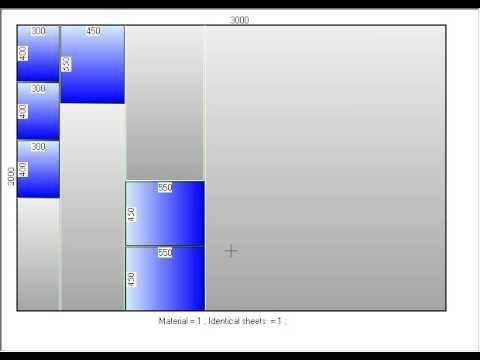 Cutting Optimization - sheet, panel, glass, wood, pipes, bars, metal