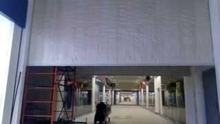 видео Противопожарные шторы