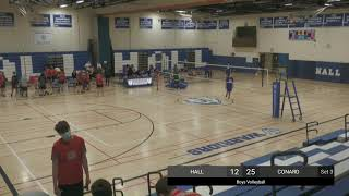 Hall Varsity Boys Volleyball vs. Conard