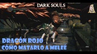 Dark Souls guia: DRAGON ROJO del puente - Trucos para matar al dragon || EP 9.2